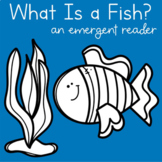 Fish Emergent Reader + 2 Activity Pages