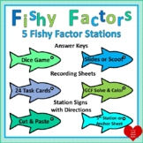 5 Fishing for Factors Stations:  Finding Factors and the G