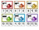 Fish Facts: 10 Frame Clip Cards