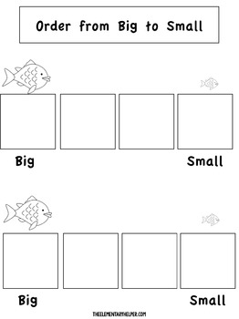 Fish File Folder Activities for Preschool and Kindergarten