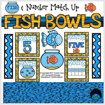 Fish & Fishbowl Number Match Up