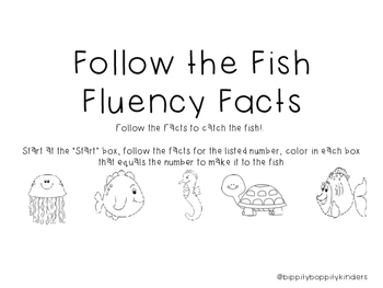 Fluency Facts to 10