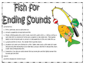 Fish For Ending Sounds