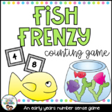 Fish Frenzy: An Early Counting Game {FREEBIE}