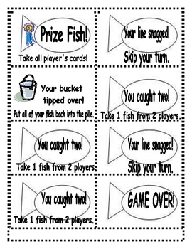 Fish Frenzy!  Common Core writing, sight words and math activities