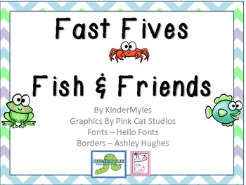 Fish & Friends - Flip It! Fast Fives