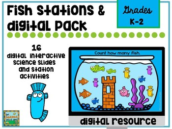 Fish Fun Science and STEM Pack with Digital Slides