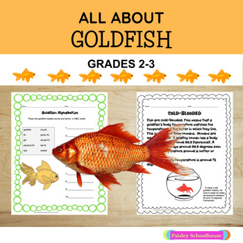 Reading Comprehension Passages and Questions:  GOLDFISH