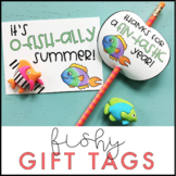 Fish Gift Tags | End of the Year Gift Tags