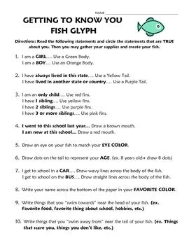Fish Glyph