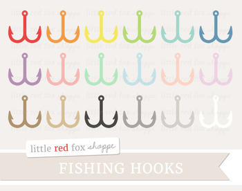 Fish Hook Clipart; Fishing, Lure