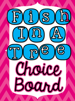 Fish In A Tree Choice Board