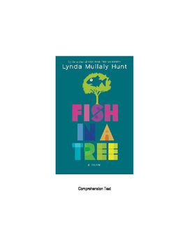 Fish In A Tree Comprehension Test