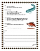 Fish Informational Report Writing Sheets, 12 Total Pages!
