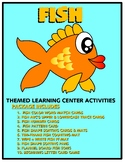 Fish Kit One  - Themed Learning Center Activity Kit