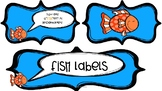 "Fish Labels~""You are o""fish""ally in ___ grade!"