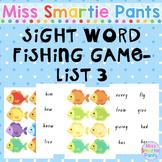 Fish Mania Sight Word Fishing Game List 3