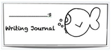 Fish Math and Writing Journal Labels