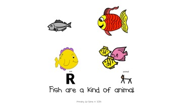 Fish Mini-Book (For Students with Autism & Communication Disorders)