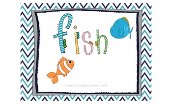 Fish Mini-Book (For Students with Autism & Communication D