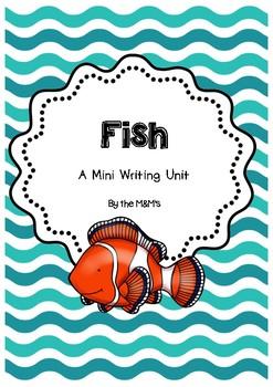 Fish Mini Writing Unit