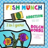 Fish Munch - Word Wall game (Dolch words - pre-primer and primer)