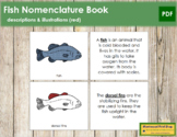 Fish Nomenclature Book (Red)