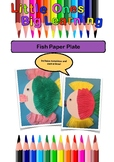 Fish Paper Plate