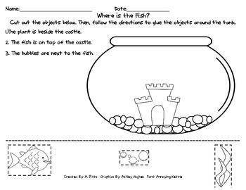 Kindergarten Positional Words Worksheets - Sharebrowse