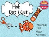 Fish - Preschool Fine Motor Activities