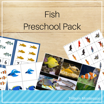 Fish Preschool Pack