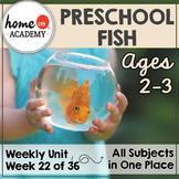 Preschool Fish Ocean Printables (Week 22)