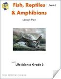 Fish, Reptiles & Amphibians Lesson Plan Grade 3