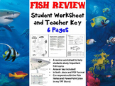 Fish Review Worksheet (Biology / Zoology)