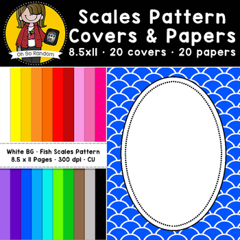 Fish Scales Pattern Covers & Papers (CU)