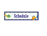 Fish Schedule Time Cards - Customizable