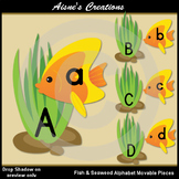 Fish & Seaweed Alphabet Movable Pieces