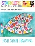 Fish Shape Drawing Lesson Plan
