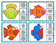 Fish Shapes Clip Cards