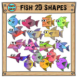 Fish Shapes Clipart