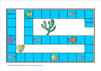 Fish Sight Word Fluency Phrases Race