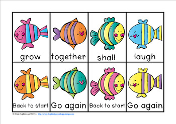 Fish Sight Word Race