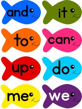 Fish Sight Words