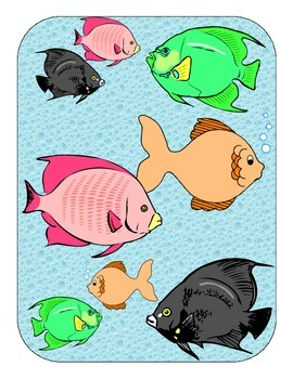 Fish Size and Color for Autism