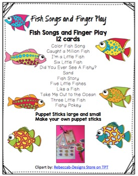 Fish Songs and Finger Play