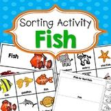 Fish Sorting Activities