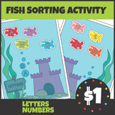 Fish Letter and Number Sort