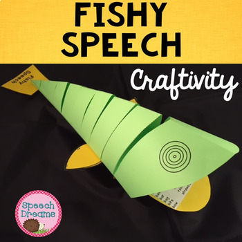 Fish Speech Craft {articulation craftivity}