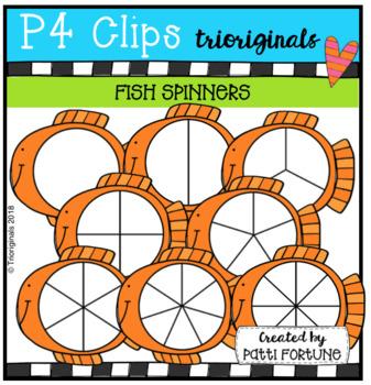 Fish Spinners (P4 Clips Trioriginals)