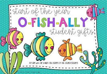 Fish Student Gift Tags